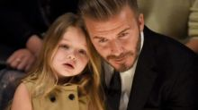 David Beckham kissed his 5-year-old daughter on the lips and people have feelings
