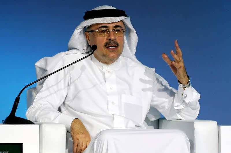 Saudi Aramco to press ahead with plan to boost output capacity, CEO says