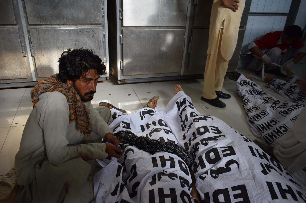 The bombing in Mastung was the deadliest attack in Pakistan in more than a year (AFP Photo/BANARAS KHAN)