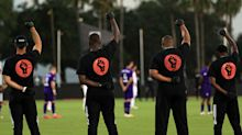 MLS is Back tournament opens with players taking knee, Black Power salutes