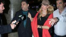 El operativo de Nicole y su ex en Aeroparque