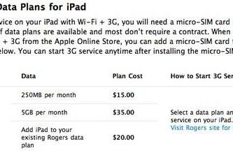 Rogers offering $20 for iPad add-on to existing iPhone customers?