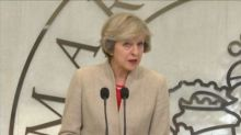 Theresa May says Brexit will demand 'give and take' with EU