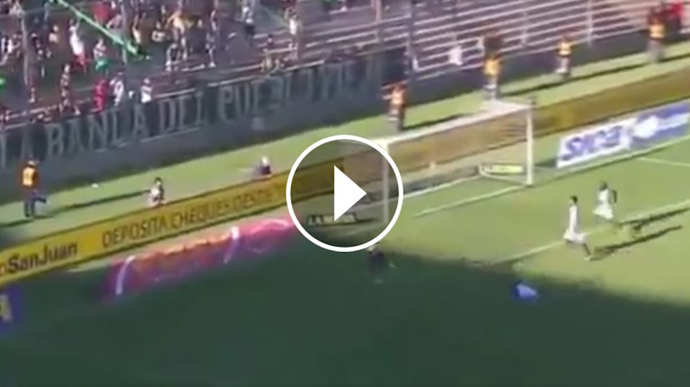 VIDEO: Benedetto hizo lo más difícil pero erró lo más fácil