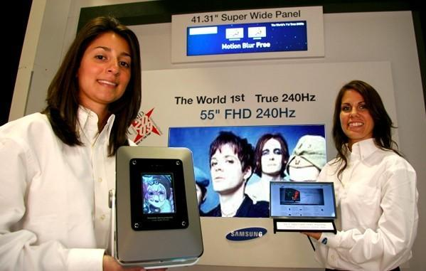 Samsung unveils 55-inch HD LCD, low power 10.1-inch display, and more at SID 2009