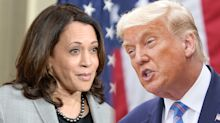 Kamala Harris asks Trump if any of his reported $421 million in debt is owed to a foreign nation