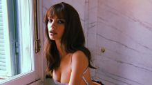 Emily Ratajkowski's top is just a bunch of strings