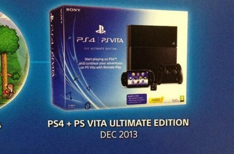 PS4 + Vita bundle in UK today