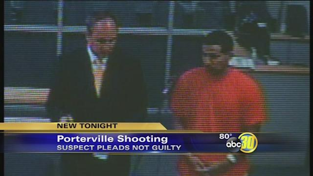 Man accused of Porterville shooting outside Office Max arraigned