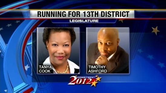 2 vying for District 13 seat