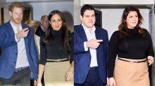 Famosa dupla plus-size reproduz fotos de príncipe Harry e Meghan Markle e arrasa no resultado