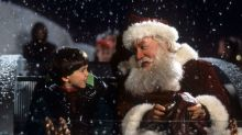 The beginning of 'The Santa Clause' was almost very dark indeed