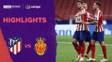 VIDEO: Melihat 2 Gol Alvaro Morata untuk Atletico Madrid Saat Taklukkan Mallorca