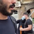 Video shows civilians helping rebuild, clean up Beirut after explosion