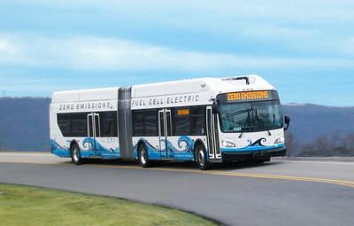 New Flyer's sixty-foot electric Bus Rapid Transit models