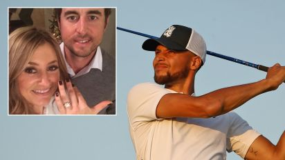 Steph Curry's touching act for golfer's sick wife