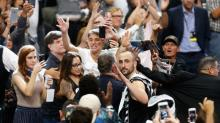 Manu Ginobili's not sure he'll retire, but Spurs fans gave him a great sendoff anyway