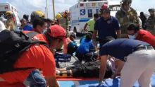 Emergency workers scramble to help wounded after Mexico ferry explosion
