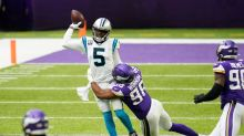 Panthers at Vikings live game updates: Minnesota leads at halftime with Dan Bailey FG