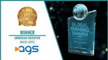 AGS President & CEO David Lopez Wins Global Gaming Award For 'American Executive Of The Year'