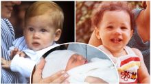 Does he look more like Harry or Meghan? How Baby Sussex compares to his royal parents