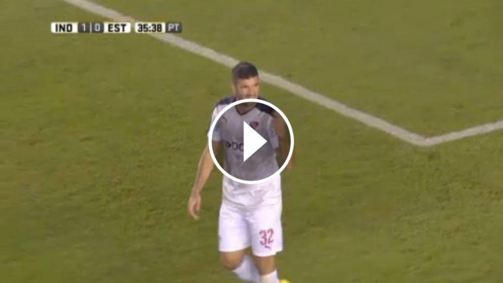 VIDEO: ¿Hubo falta? Gol anulado a Gigliotti