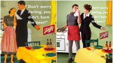 Artist swaps gender roles in sexist vintage ads to prove a powerful point