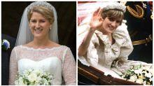 Princess Diana's niece wears her wedding tiara