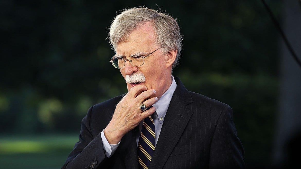 John Bolton Already Talking With Book Agents: 'He Has a Lot to Dish'