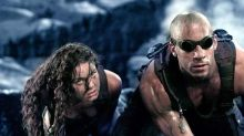 Vin Diesel shows off the script for 'Riddick 4'