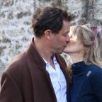Dominic West and wife insist 'our marriage is strong' after he was pictured with Lily James