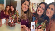 Separados pela primeira vez, filhos de Fátima celebram aniversário à distância