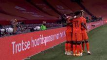 Foot - L. nations - Ligue des nations : tous les buts de Pays-Bas - Pologne en vidéo