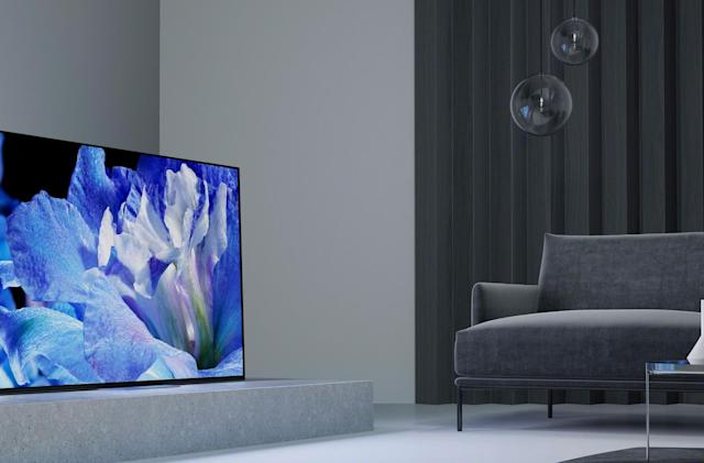 Sony's 2018 4K TVs keep the focus on OLED, HDR and Android