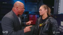 After violent outburst, Ronda Rousey hit with 30-day suspension from RAW
