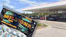 Man's $1.2m lottery scratchie win while filling up at petrol station