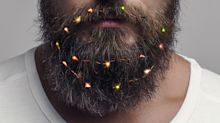 Beard lights are the 2018 edition of last year's beard baubles