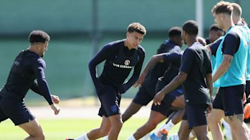Alli returns to England training... but not all is well