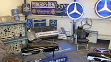 Magical Mercedes memorabilia being sold at auction