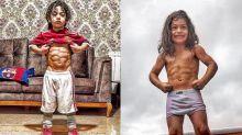 腹肌炸裂的足球神童 侯西尼夢想成為下一個梅西