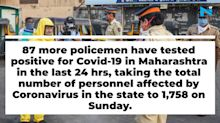 87 more cops in Maharashtra test positive for virus : All the latest updates on Covid-19