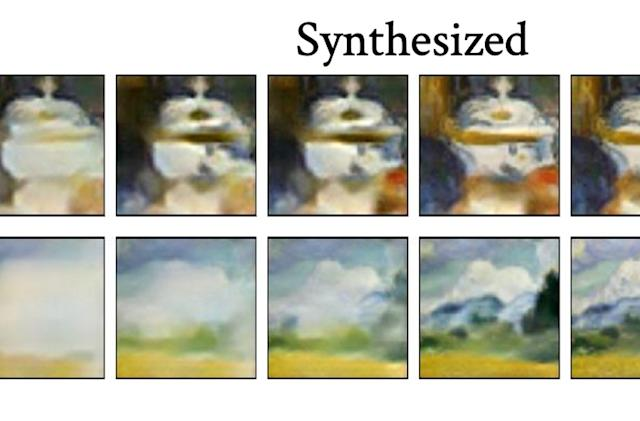 AI recreates the painting techniques of famous artists