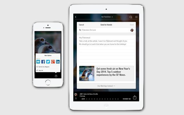 Flipboard launches direct sharing on iOS, makes magazines from your friends' suggestions