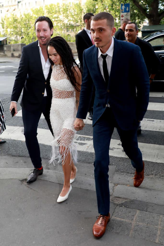 Big Little Lies Star Zoe Kravitz Marries Karl Glusman