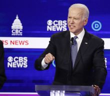 Biden finally shows up to the debate stage — just in time