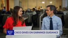 CSCO Dives On Earnings Guidance