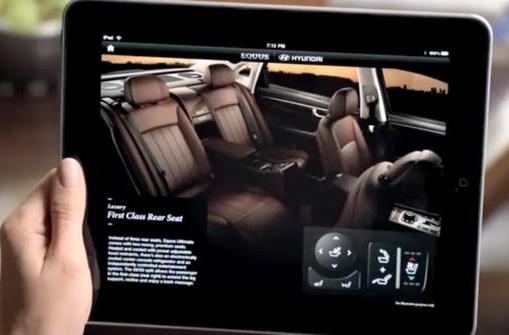 Hyundai shows off Equus iPad owners manual, available for test drives in the App Store (video)