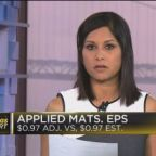 Applied Materials earnings in line with expectations