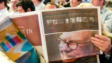 Warren Buffett says the newspaper business is 'toast'