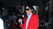 Victoria Beckham shows us how to stay chic in the rain